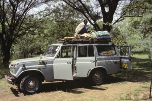 This is how I traveled through Kenya