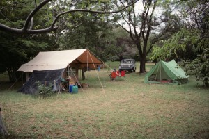 This was my camp at Lake Baringo in Kenya