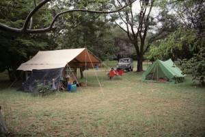 This was my camp at Lake Baringo in Kenya